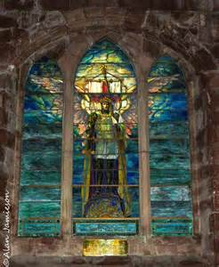 panoramio photo of louis comfort stained glass