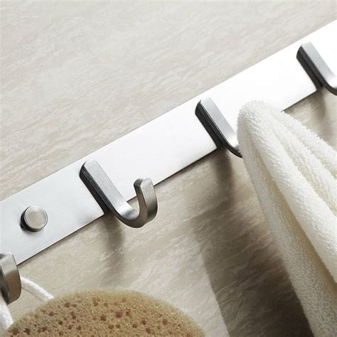 Wardrobe Hooks Hangers - new wall mounted clothes hangers clothes towel robe holder