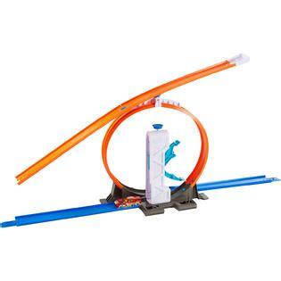 Mainan Anak Wheels Track Builder Loop Launcer Dmh51 wheels trackbuilder essentials