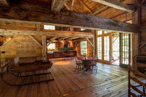 Barn With Loft by Catskill Barn Home Heritage Restorations