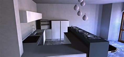 cucina con bancone bar foto cucina minimal con isola bar foto1 di arredare