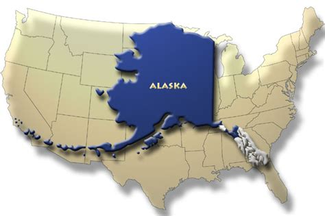 us map alaska to scale universe a devoted