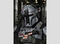 Galac-Tac Armor Gives Mandalorian Armor a Tactical Look ... Future Battle Helmet