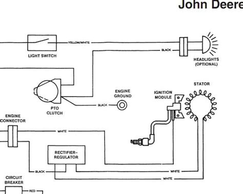 deere stx 38 wiring diagram wiring diagram and fuse