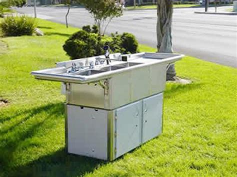 portable sinks with and cold water portable cold sink rental cci rentals
