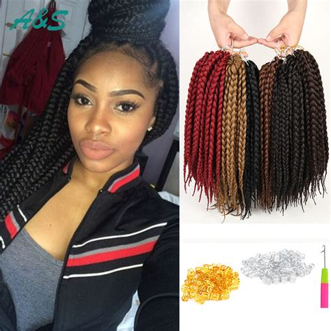 box braids with kanekalon hair natural black senegalese twist braid hair 3x box braids
