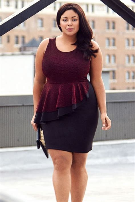 what hair style should fat women wear whether plus size women should avoid peplum outfits or not