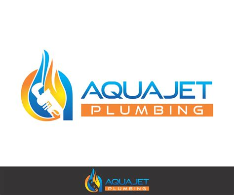 Business Logo Design For Aquajet Plumbing By Classycreatives Design 3860666 Plumbing Logo Templates