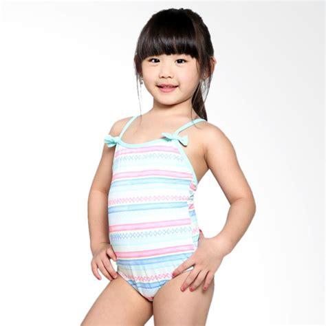 Stripes One Shoulder Baju Renang Anak Perempuan Jual Palmo One K Wcd3 Baju Renang Anak