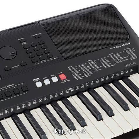 Keyboard Yamaha E453 yamaha psr e453 portable keyboard available in lowest price at raj musicals delhi india