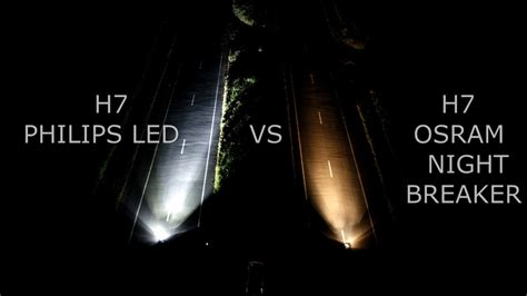 Lu Led Philips Atau Osram h7 philips led x treme ultinon vs h7 osram breaker lazer