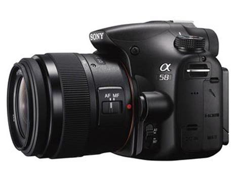 Kamera Dslr Sony Slt A58 sony announces the slt a58 dslr with dt 18 55mm f 3 5 5 6 sam ii lens available for pre