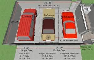 standard garage size standard garage door height standard