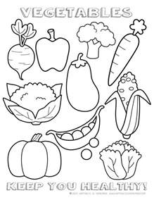 vegetables coloring pages free coloring pages of healthy meal