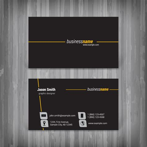 How To Design Business Card In Coreldraw