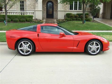 how to sell used cars 2006 chevrolet corvette auto manual sell used 2006 corvette z51 in frisco texas united states