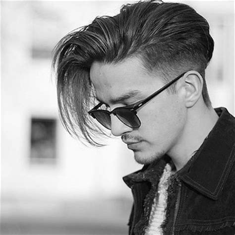 sidecut for long hair guys how to style a modern quiff the idle man