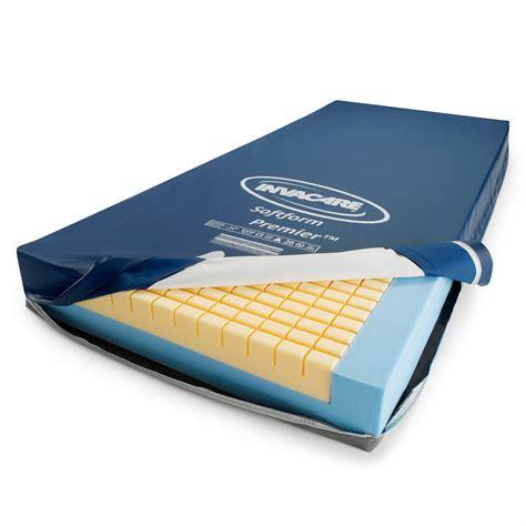 invacare beds invacare softform premier mattress for superior pressure redistribution