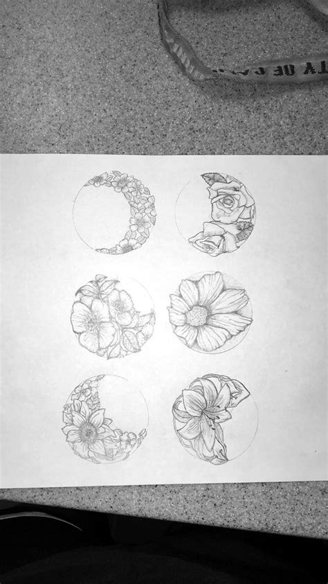 moon phases tattoos designs best 25 moon phase ideas on moon tatto