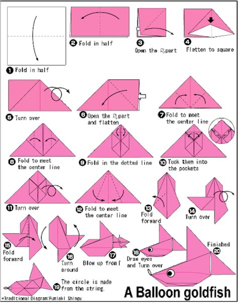 How To Make Origami Fish Step By Step - origami