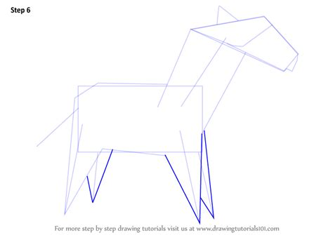 Zebra Origami - learn how to draw an origami zebra everyday objects step