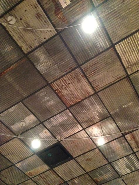 metal roof panels for basement ceiling google search