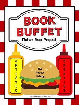 Fiction Book Report Projects quot book buffet quot fiction book report book project by the