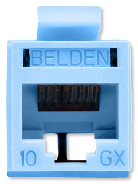 Connector Belden Rj45 Utp belden rvamjkutb b24 revconnect 10gx t568 a b utp rj45