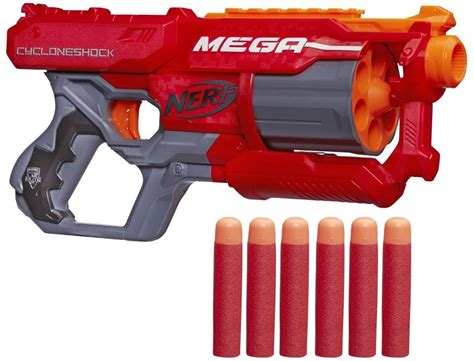 Nerf N Strike Elite Mega Cycloneshock Blaster 9 Kg 9 97 reg 22 nerf n strike elite mega