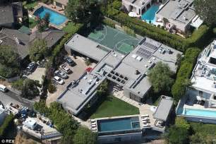 Leo s hollywood hills compound includes two adjoining properties and a