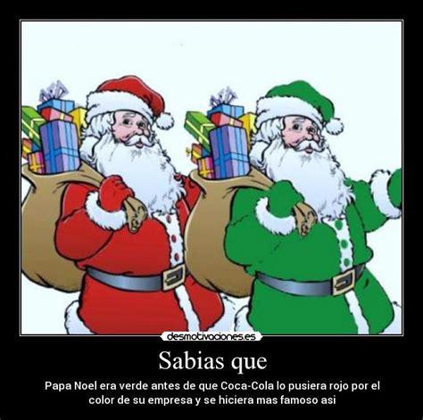 Imagenes De Santa Claus Verde | sabias que desmotivaciones