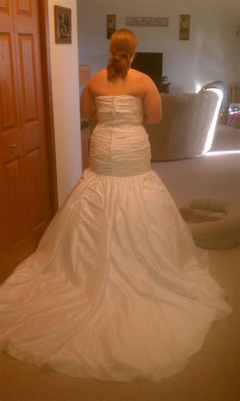 custom wedding dress my custom made wedding dress from china is here