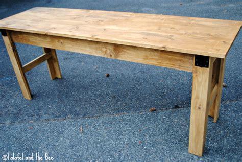 ana white narrow farmhouse table computer desk diy