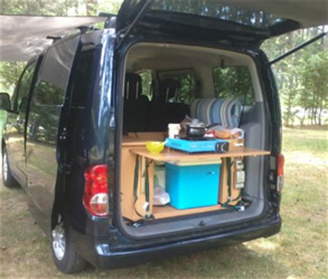 nissan california set up kitchen to go trunk set up for car or cing