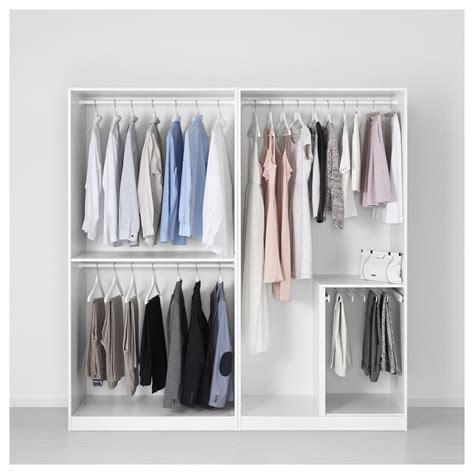 kleiderschrank ikea pax pax wardrobe white 200x58x201 cm ikea