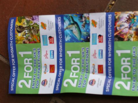 newspaper theme park vouchers thorpe park alton towers 2 for 1 voucher from wh smiths