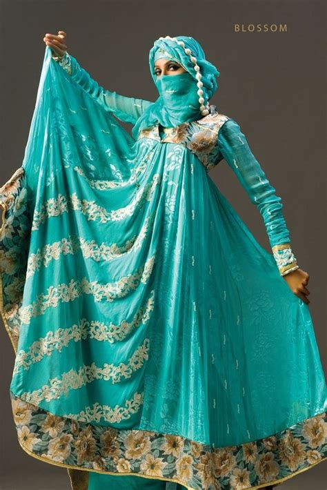 Dress Muslim Abaya Hikmat Fashion A192 Turquise widyaan the fashion valley by shahid afridi lawn collection 2011 clothes and costuming