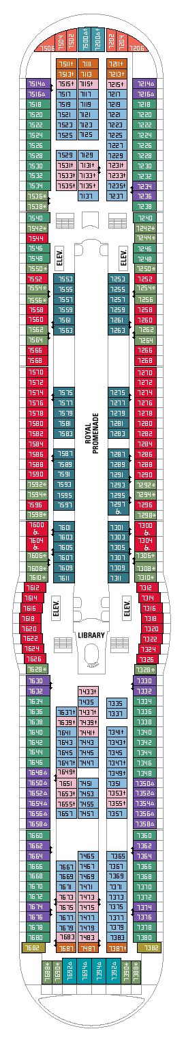 adventure of the seas floor plan royal caribbean adventure of the seas destination oceans