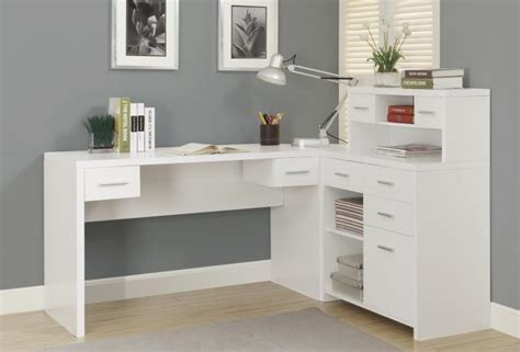 corner desk with hutch white 50