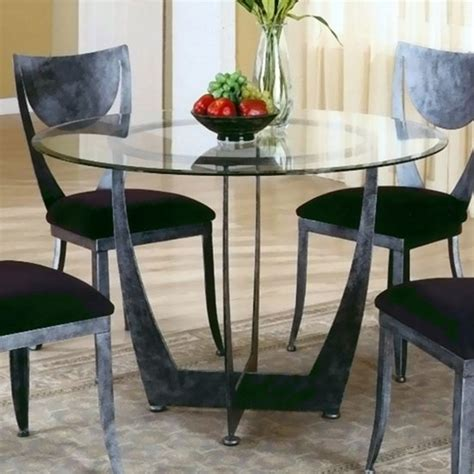 round glass dining room sets claire round glass casual dining room set dining room sets