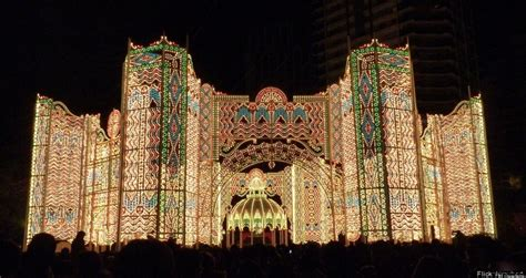 herr s holiday light display 10 amazing christmas light displays around the world