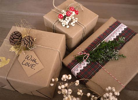 18 brown paper christmas gift wrapping ideas stayglam