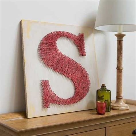 How To String Letters - 25 unique string letters ideas on canvas