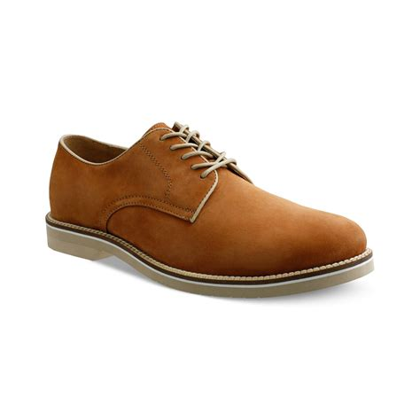 bass shoes g h bass co buckinham plaintoe suede shoes in brown