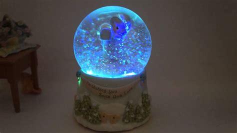 Bola Snowball Musik Box box wish you smile and