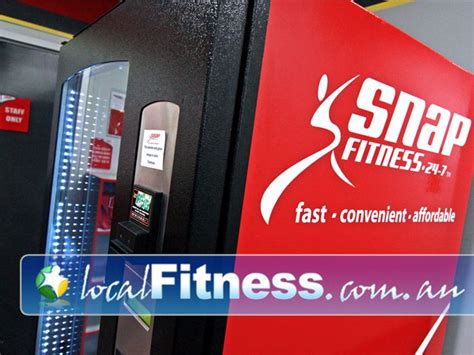 supplement vending machine snap fitness members lounge berwick 24 hour access to