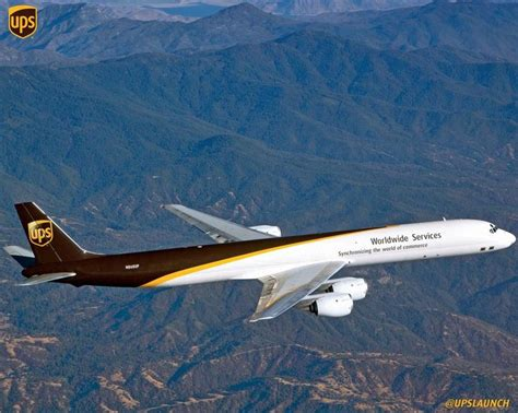 ups airlines on aviation and planes
