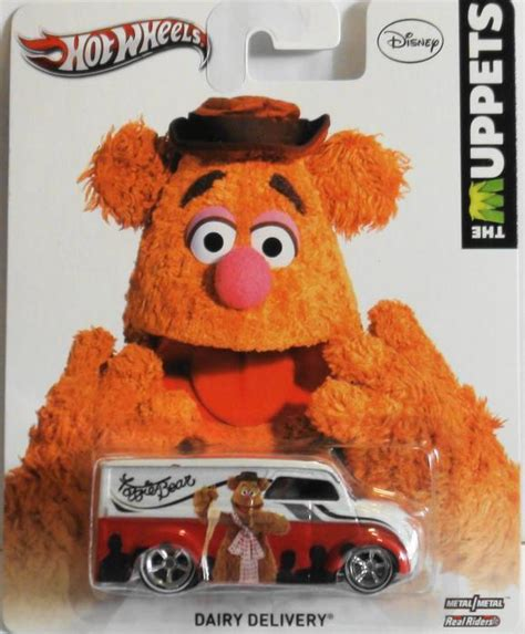 Hotwheels The Muppets wheels muppets fozzy dairy delivery city