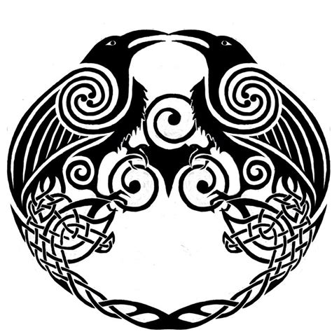 celtic crow tattoo the world s catalog of ideas