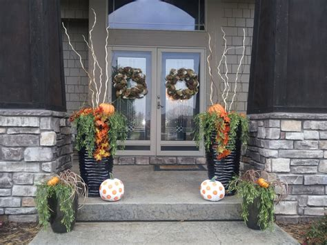 front porch fall decor fall pinterest porches
